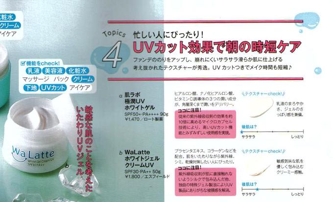 WaLatte(ワラッテ)雑誌掲載情報